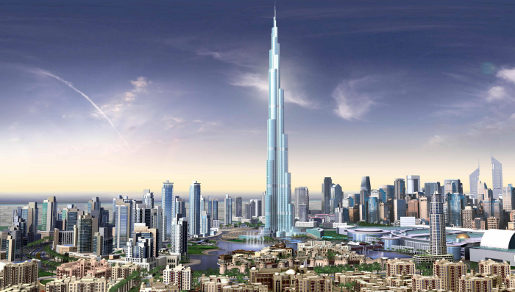Burj Dubai Artists Impression