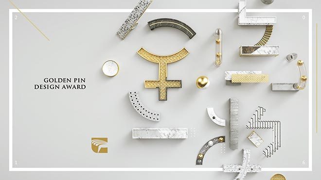 Golden Pin Design Awards 2016 key visual