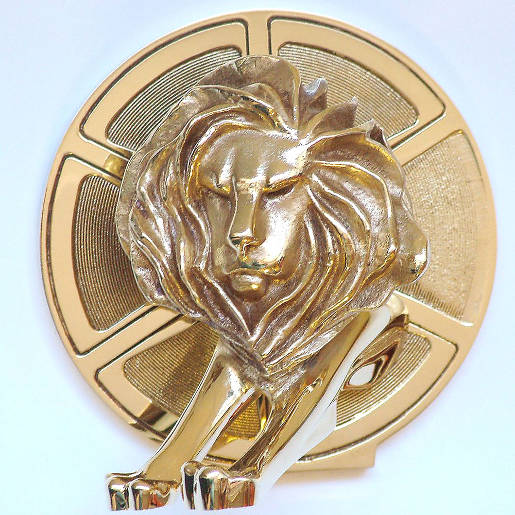 Gold Film Lion