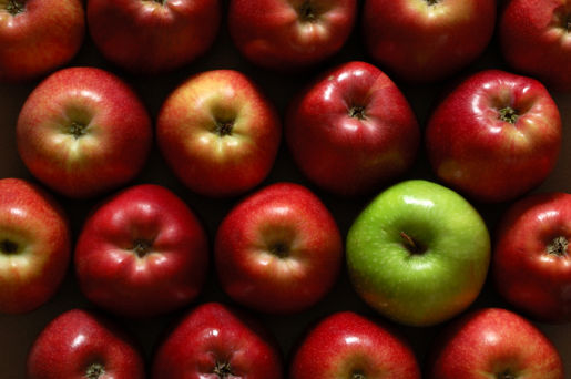 Apples Red and Green