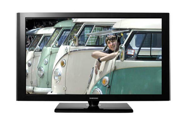 Volkswagen Kombis in television screen