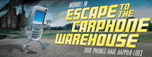 Mowbli in Carphone Warehouse Escape TV Ad