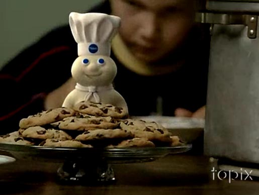 Pillsbury Got Milk commercial
