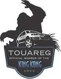 Touareg King Kong Badge