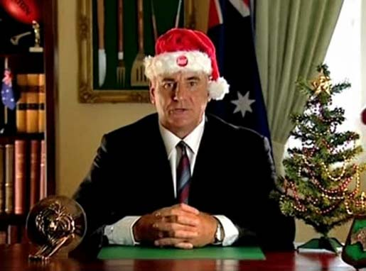 Sam Kekovich Christmas Greeting