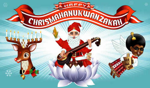 Happy Chrismashanukwanzakah
