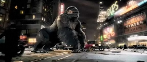 King Kong in Volkswagen Touareg TV Ad