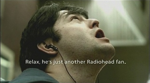 Relax it's just a Radiohead Fan