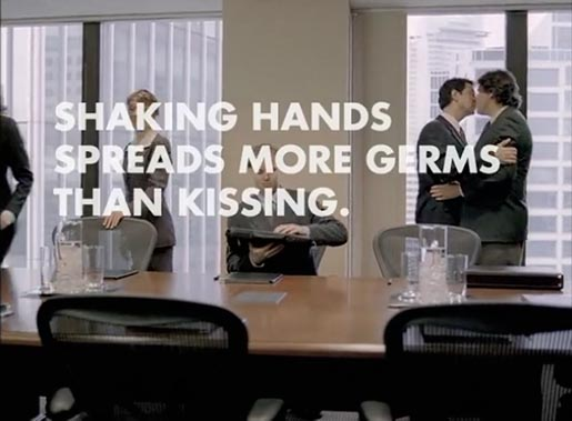 Boardroom Kisses Science World TV Ad