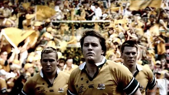 Rugby Union Australia Butterflies TV Ad