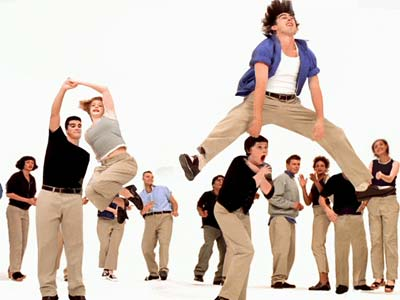 Dancers in Gap Khakis TV Ad