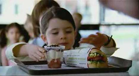 Inner Child dines at McDonalds in TV Ad