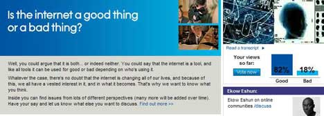 AOL Discuss Internet Screen Shot