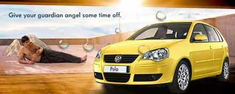 Web Site Image featuring angel and VW