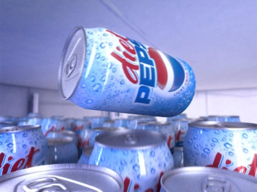 Diet Pepsi Crowd Surf