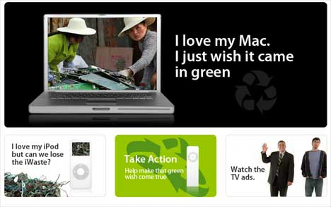 Green My Apple visuals