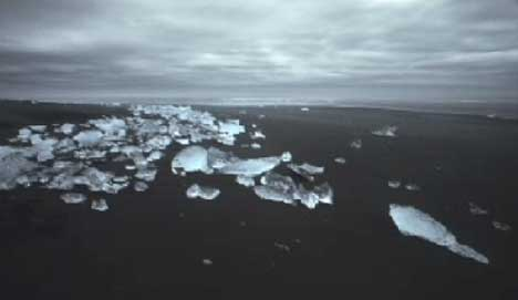 Iceland shot in Greenpeace Breathe Ad