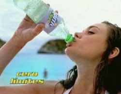 Bad Girl in Sprite Zero Bikini ad