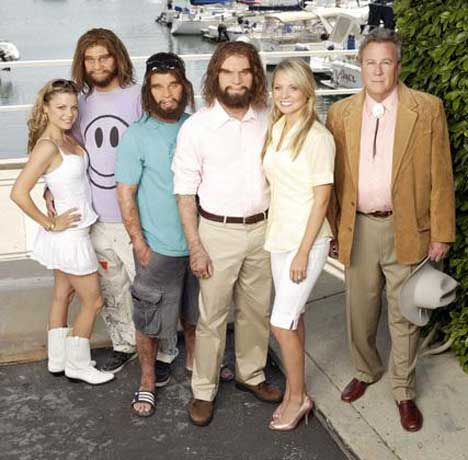 Cast of Cavemen TV  show