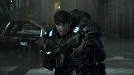 Gears of War TV ad still