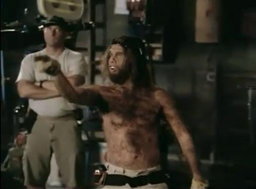 Caveman in first Geico TV ad