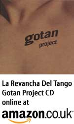 Gotan Project La Revancha Del Tango CD at Amazon.co.uk