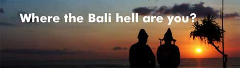 Where the Bali Are You?