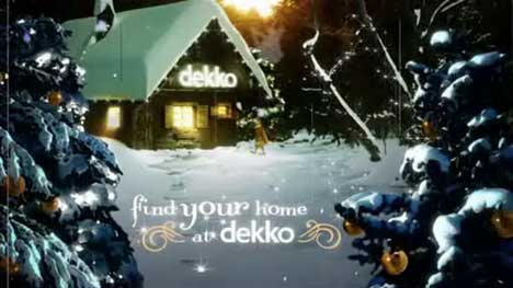 Find Your Home at Dekko This Christmas