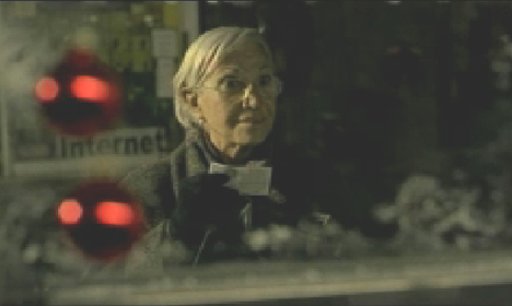 Grandmother in Once TV ad