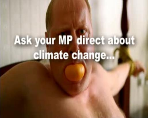 Ask your MP direct about climate change
