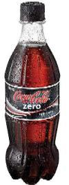 Coke Zero Bottle