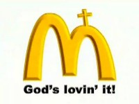 McPassion Logo God's Loving It