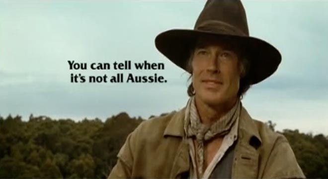 Ronn Moss not all Aussie