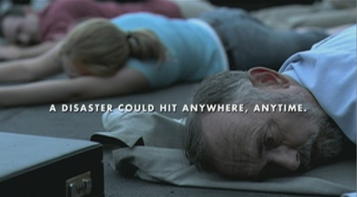 Red Cross NZ Lying Down TV Ad