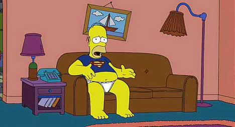 Homer in The Simpsons Movie Teaser