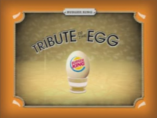 Burger King Classic Egg Burger