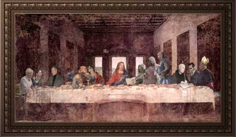 Challenging Da Vinci version of Last Supper