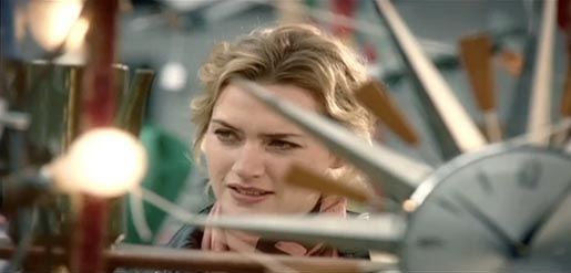 Kate Winslet in American Express TV Ad