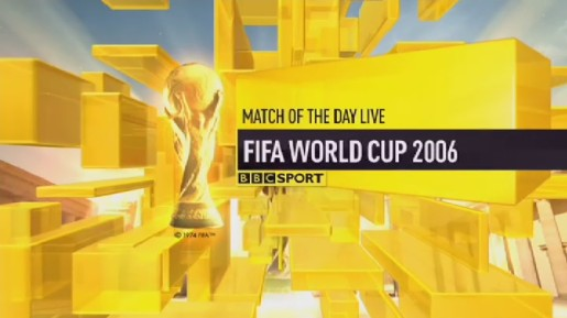 BBC One World Cup Ident