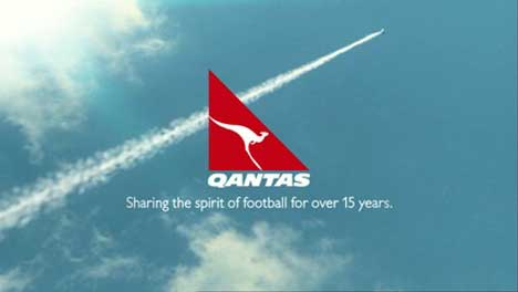 Qantas Football Taking Off