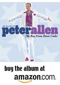 The Very Best of Peter Allen at Amazon.com