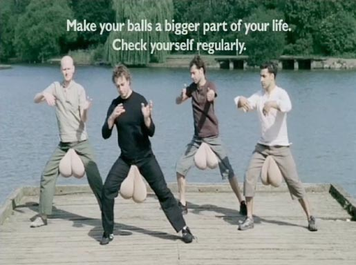 Tai Chi in Everyman Balls TV Advert
