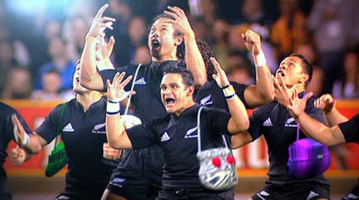 All Blacks Haka Hand Bagged for Bledisloe Cup - The Inspiration Room