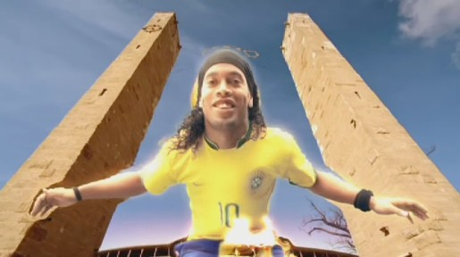 Ronaldinho in BBC World Cup Ident