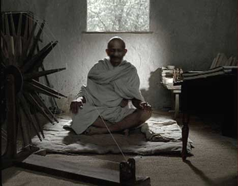 Gandhi in Telecom Italia TV Ad