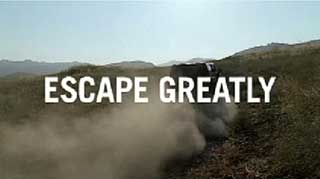 Escape Greatly Super in Hummer Ad
