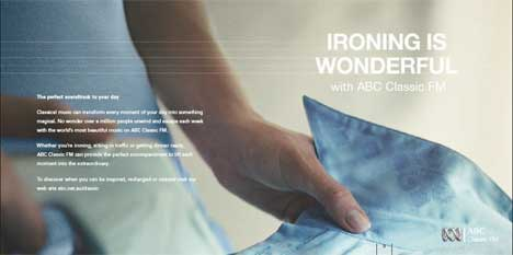 Ironing is Wonderful - from inside ABC CD