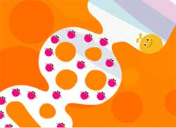Screenshot from Locoroco Demo