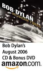 Bob Dylan's Modern Times CD & DVD at Amazon.com