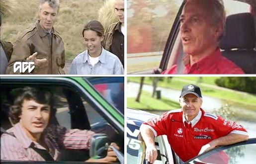 Peter Brock TV commercials